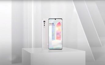 LG Velvet design and chipset officially revealed