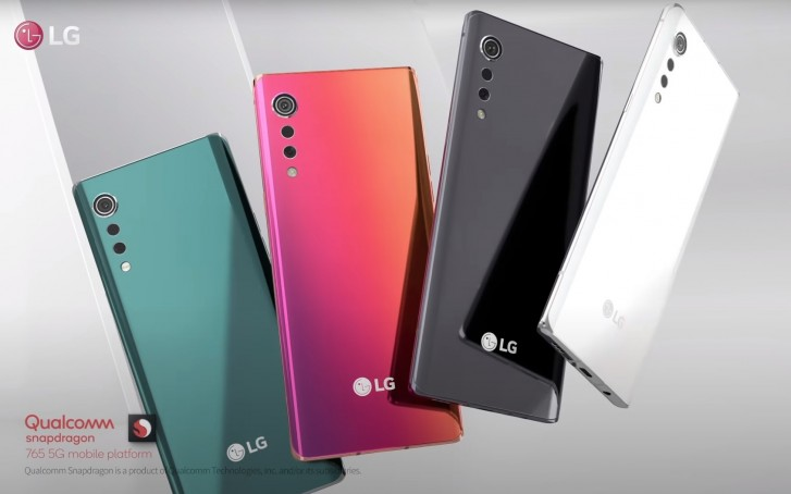 LG Velvet design and chipset officially revealed