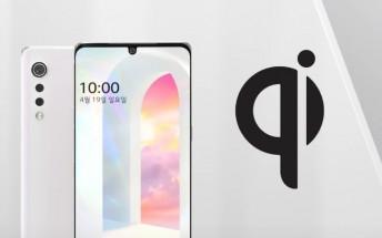 LG Velvet image leaks,  10W wireless charging confirmed