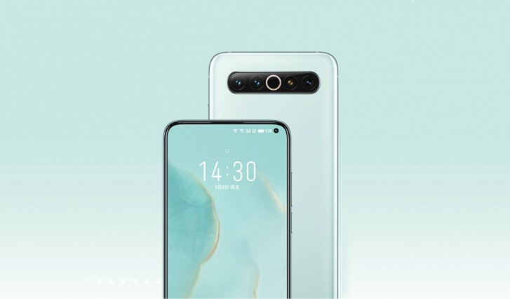 Meizu 17 up for pre-order in China, 17T also listed