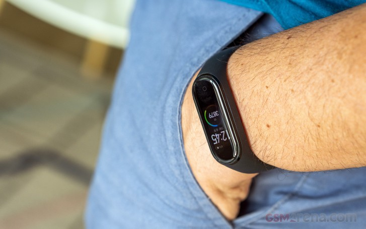 You can now rate Mi Band 4 watch faces and share heart rate data with other apps