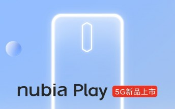 nubia Play will have 5,100 mAh battery, design and retail box appear online