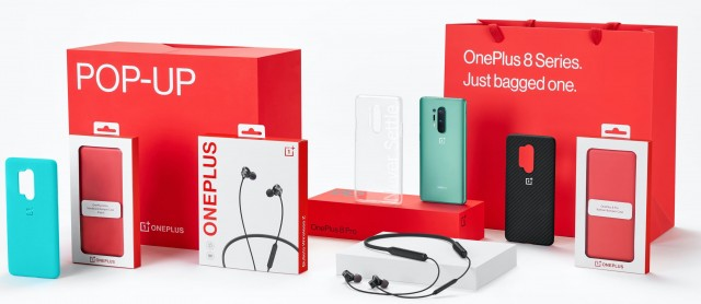 الحزمة الترويجية للحدث المنبثق OnePlus 8 Pro