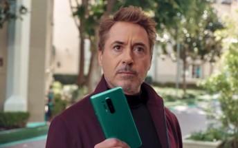 Robert Downey Jr.'s OnePlus 8 Pro ad goes live