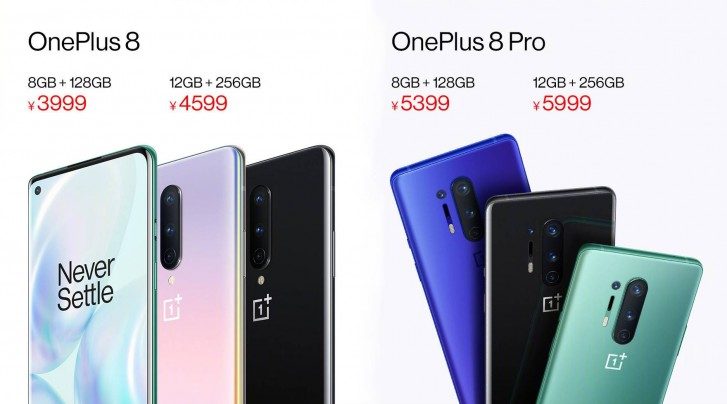 OnePlus 8 and 8 Pro have sold out in China, company shifts production to resume sales