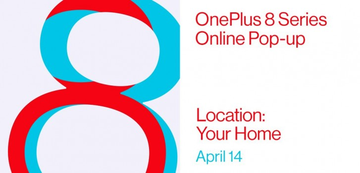 OnePlus will hold an online pop-up event for OnePlus 8 series