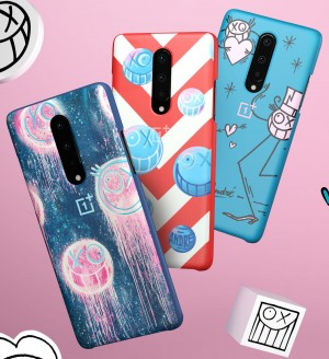 OnePlus x Andre limited edition cases