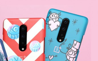 OnePlus 8 limited edition cases by artist Andre surface a day early