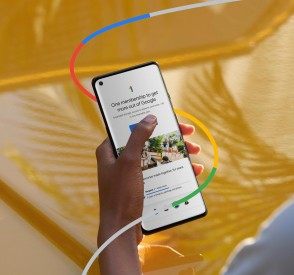 Promo images for Google One