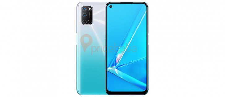 Leaked Oppo A92 render reveals an L-shaped camera on the back