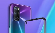 Oppo A92 leaks in Aurora Purple, shows off an A72/A52 like design