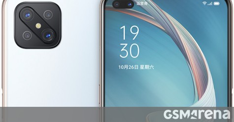 Oppo A92s listed on official website with 120Hz screen and Dimensity 800 chipset