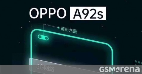 Oppo A92s also on the way, sporting 5G and a 120Hz display or touch input