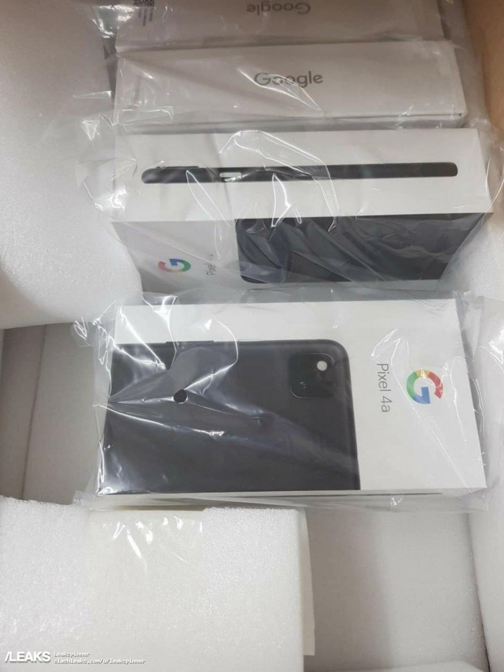 Google Pixel 4a retail packaging revealed in new leak