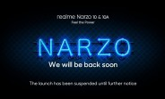 Realme Narzo 10 series April 21 launch postponed