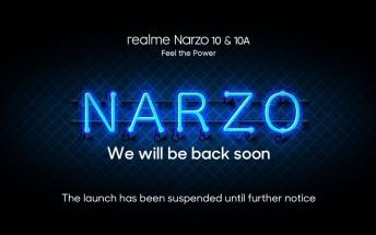 Realme Narzo 10 series April 21 launch postponed
