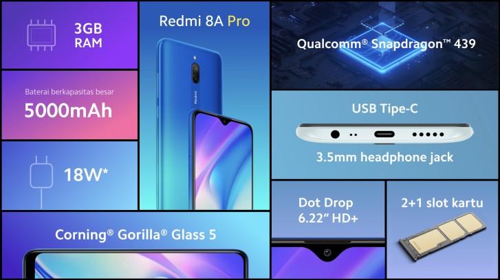 Redmi 8A Pro announced - a rebranded 8A Dual