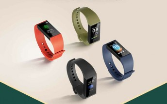 Redmi band coming tomorrow, images reveal color options