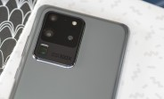 Another camera improving update is rolling out to international Galaxy S20 family members