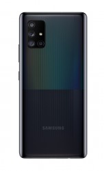 Samsung Galaxy A71 5G in Prism Cube Black