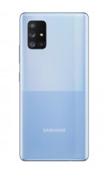 Samsung Galaxy A71 5G in Prism Cube Blue