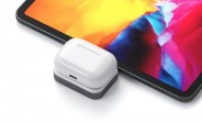 This wireless AirPods charger plugs directly into your USB-C port