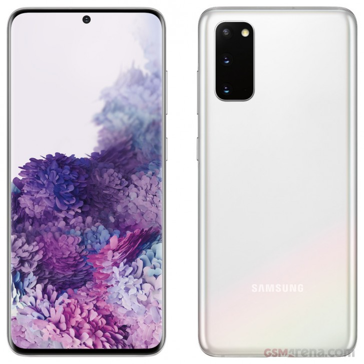 صور حصرية لـ Verizon Cloud White Samsung Galaxy S20