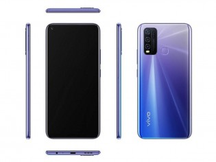 vivo Y50 in Blue