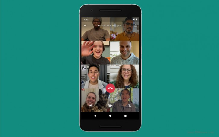 Facebook makes it official: WhatsApp audio and video calls will soon go up to 8 participants