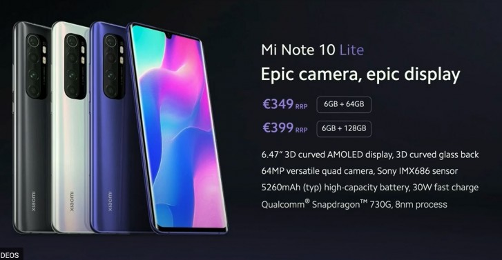 Xiaomi Mi Note 10 Lite is official, brings a lot of oomph for not a lot of money