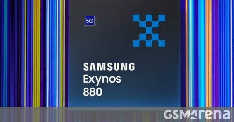 Samsung announces Exynos 880 – mid-range SoC with built-in 5G modem