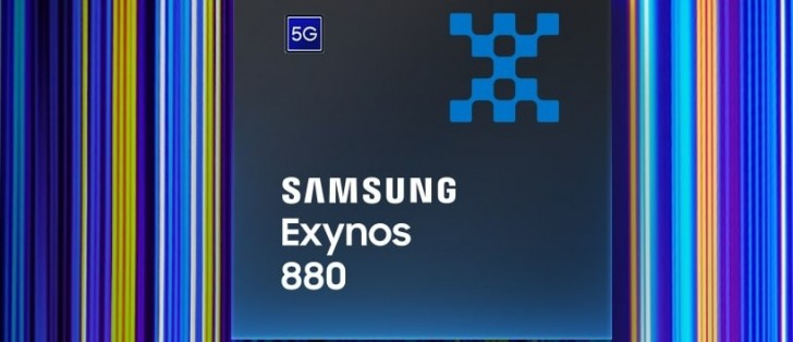 Samsung announces Exynos 880 -  mid-range SoC with built-in 5G modem