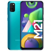 Samsung Galaxy M21 in Green