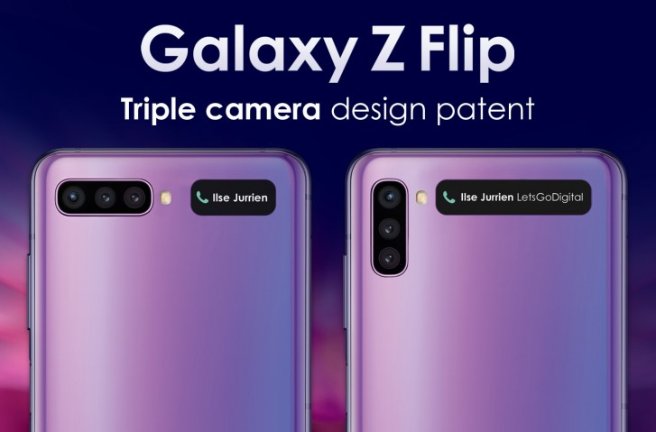 The next Galaxy Z Flip could come with three cameras on its back, patent suggests