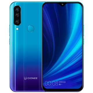 Gionee K5 in black and blue