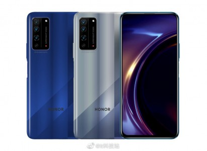 Honor 10X Pro 5G (left) and Honor 10X 5G (right)
