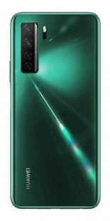 Huawei P40 lite 5G in green, black and space silver