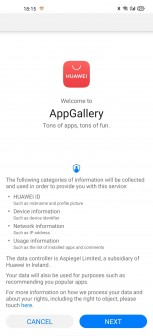 Pre-installing Huawei AppGallery on a non-Huawei phone