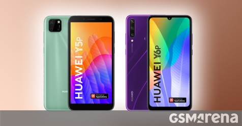 Affordable Huawei Y5p and Huawei Y6p leak online
