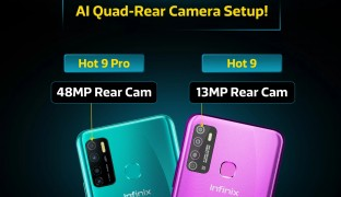 Infinix Hot 9 Pro with 48MP cam and Hot 9 with 13MP cam