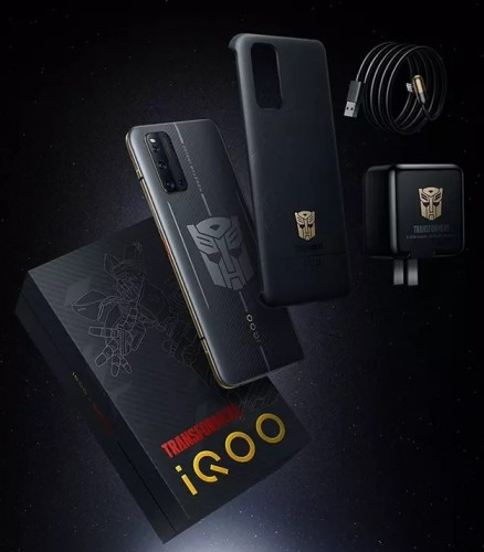 iQOO 3 5G Transformers Limited Edition announced