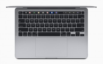 Apple updates the MacBook Pro 13 with scissor switches and doubles the storage