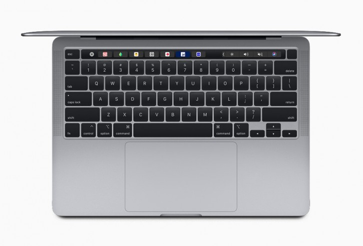 Apple updates the MacBook Pro 13 with scissor switches and doubles the storage  Apple Has Launched New 13″ MacBook With i5 CPU & All-New Keyboard gsmarena 001