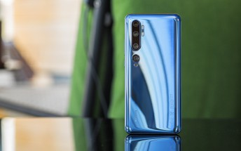 Android 10 finally reaches the Xiaomi Mi Note 10