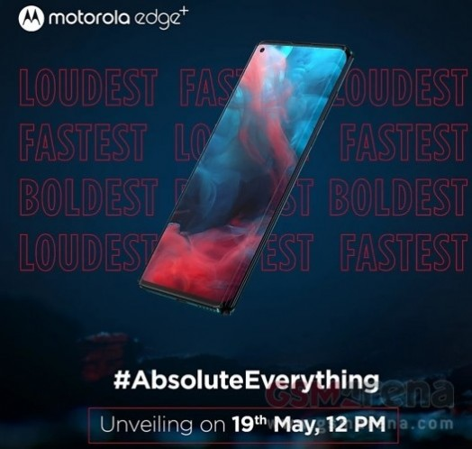 Motorola Edge+ lands in India on May 19