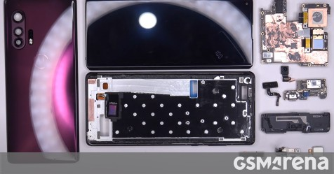 Motorola Edge+ teardown reveals aluminum midframe, lots of copper inside