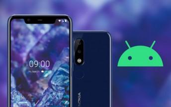 Nokia 5.1 Plus now receiving Android 10