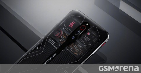 Transparent nubia Red Magic 5G finally arrives for pre-order