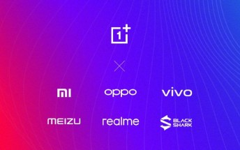 OnePlus, Realme, Meizu, Blackshark join the P2P Transmission Alliance