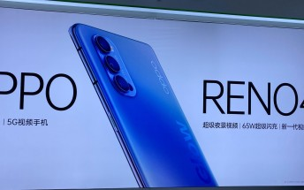 Oppo Reno4 specs and images surface